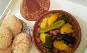 Tajine d'Agneau aux Légumes de saison