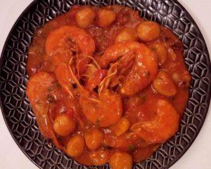 Dombrés au Crevettes