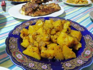 Batata bél Charmoula / Pomme de Terre Marinée / بطاطا بلشرمولا