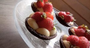 Tartelette Chocolat  à la Fraise (ou autres…)