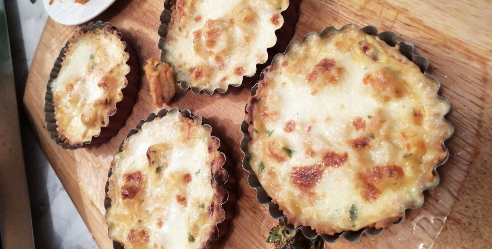 Tartelettes Crémeuse à la Crevettes